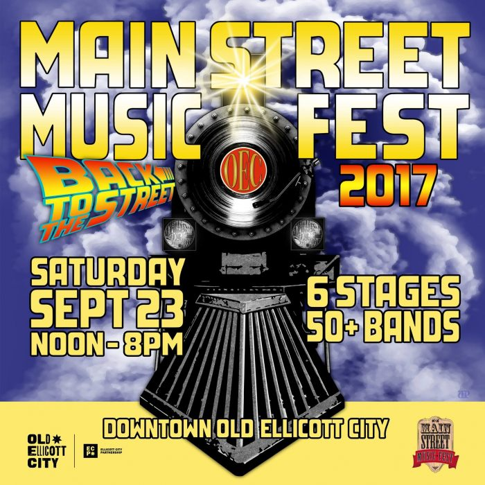 2017 Main Street Music Fest Graphic
